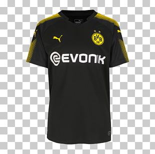 Borussia Dortmund T-shirt Jersey Football PNG