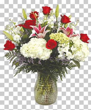 Garden Roses Floral Design Cut Flowers Flower Bouquet Vase PNG