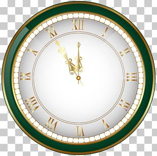 New Year's Eve Clock Christmas PNG
