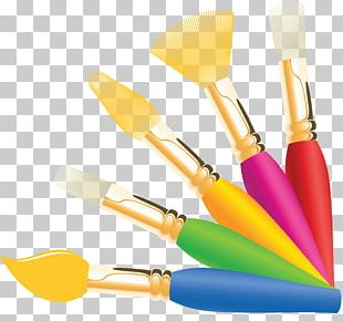 Paintbrush Oil Paint PNG