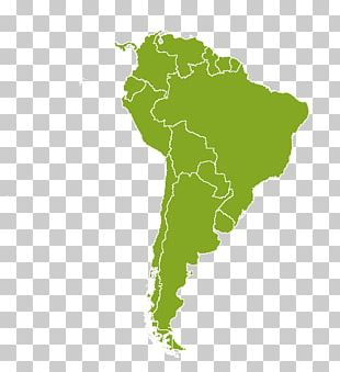 Latin America South America Map PNG