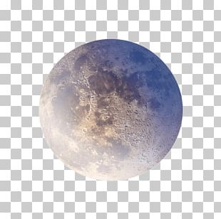 Colourful Moon PNG