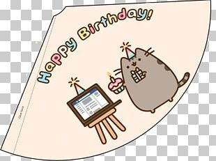Party Hat Birthday Pusheen PNG