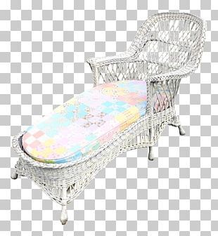 Chair Chaise Longue Resin Wicker Cushion PNG