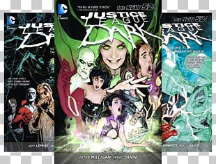 Justice League Dark Vol. 1: In The Dark (The New 52) John Constantine Enchantress Justice League Dark: In The Dark PNG