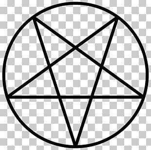 Pentagram Pentacle Satanism Symbol PNG