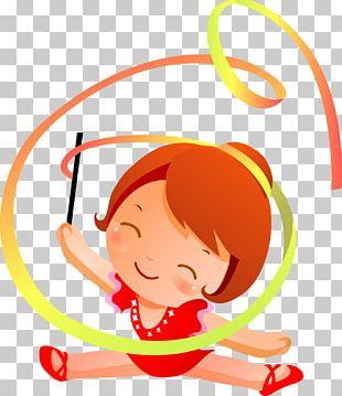 Rhythmic Gymnastics Sport Drawing PNG