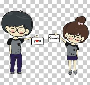 T-shirt Cartoon Drawing Couple PNG