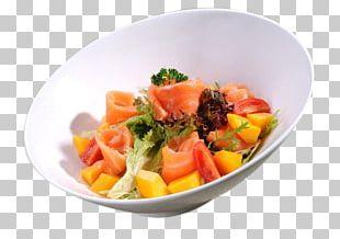 Vegetarian Cuisine European Cuisine Smoked Salmon Salad Food PNG