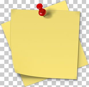 Paper Post-it Note Sticker Label PNG