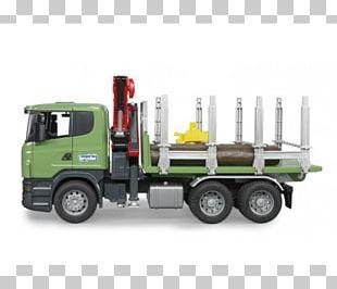 Scania AB Scania PRT-range Logging Truck Bruder PNG