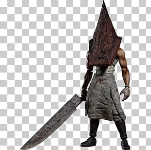 FREEing Silent Hill 2: Red Pyramid Thing Figma Action Figure Pyramid Head Silent Hills PNG
