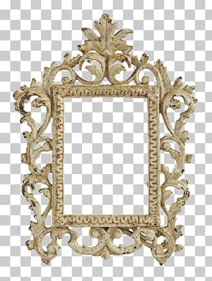Frames Shabby Chic Antique Mirror PNG