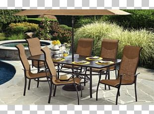 Patio Table Dining Room Chair Garden Furniture PNG