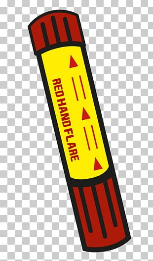 Flare Logo Yellow PNG