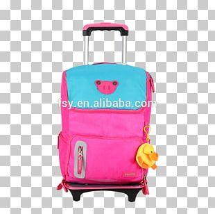 Hand Luggage Baggage Handbag Backpack PNG