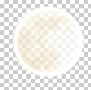 Lasagne White Circle Pattern PNG