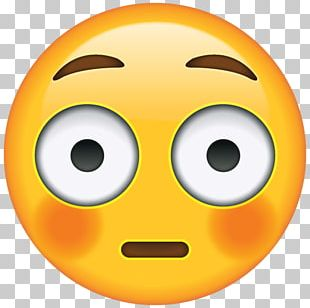 IPhone Emoji Sticker Blushing Embarrassment PNG