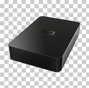 Hard Drives Terabyte Western Digital External Storage USB Flash Drives PNG