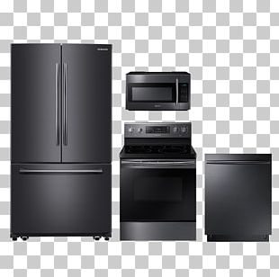 Refrigerator Home Appliance Kitchen Cooking Ranges Stainless Steel PNG