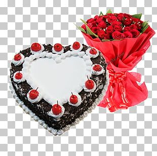 Black Forest Gateau Birthday Cake Chocolate Cake Bakery Red Velvet Cake PNG