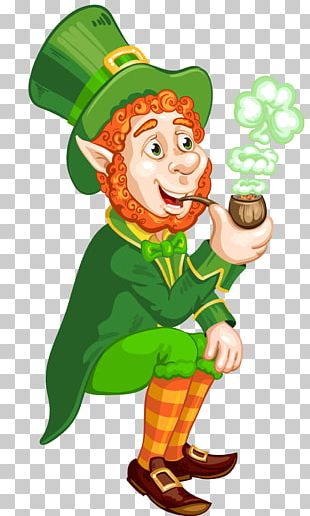 Saint Patrick's Day Wish Leprechaun PNG