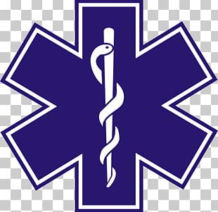 Star Of Life Emergency Medical Technician Emergency Medical Services Decal Paramedic PNG