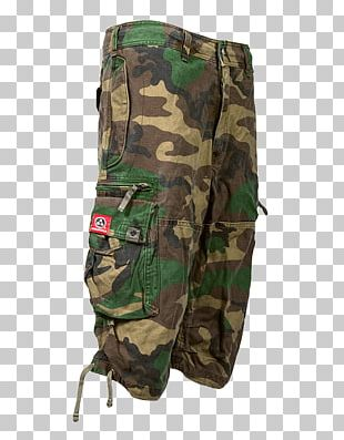 Pants Shorts Military Uniform Military Camouflage PNG