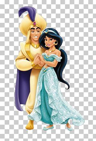 Princess Jasmine Aladdin Rapunzel Genie Disney Princess PNG