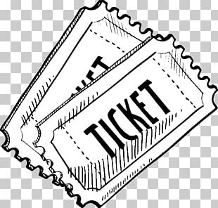 Drawing Ticket Film Sketch PNG