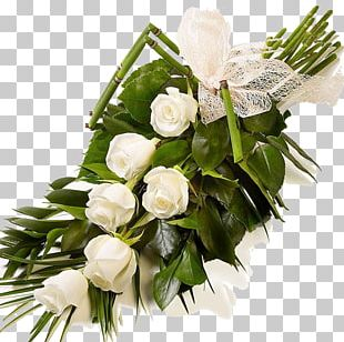 Rose White Flower Bouquet Cut Flowers PNG