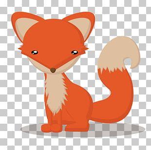 Red Fox Cartoon Animals Card Cartoon Fox Touch Animal : Preschool Game PNG