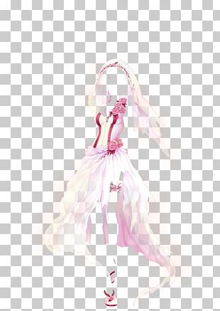 Costume Design Pink M Doll PNG