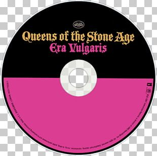 Compact Disc Queens Of The Stone Age Era Vulgaris Album PNG
