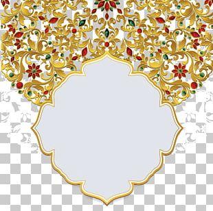 Wedding Invitation Ornament Greeting Card PNG