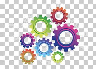 Gear Color Icon PNG