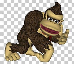 Super Smash Bros. Melee Mario Vs. Donkey Kong: Minis March Again! Gorilla GameCube Video Game PNG