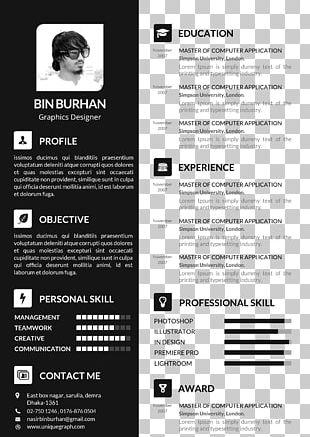 Résumé Template Curriculum Vitae Cover Letter PNG