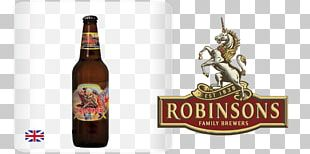 Robinsons Brewery Beer Bottle Ale Porter PNG