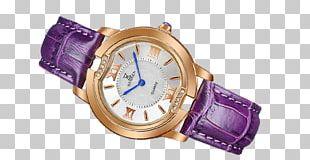 Watch Strap Purple Designer PNG