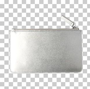 Silver Coin Purse Leather PNG