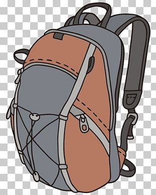Drawing Backpack Illustration PNG