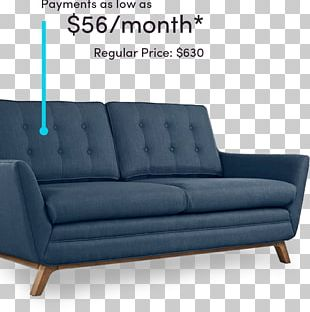 Sofa Bed Loveseat Table Furniture Couch PNG