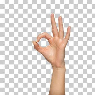 Gesture OK Kursograd Upper Limb PNG