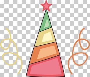 Color Santa Hat PNG