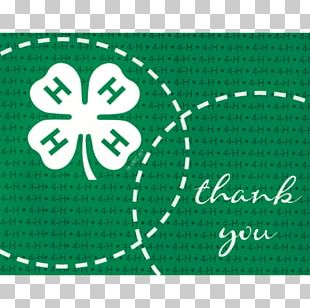 4-H Letter Of Thanks Maryland Agriculture Positive Youth Development PNG