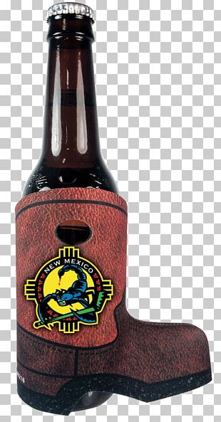 Beer Bottle Koozie Glass PNG