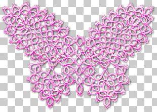 Tatting Bobbin Lace Crochet Needle Lace Pattern PNG