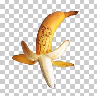 Banana Creativity Creative Work Art Food PNG