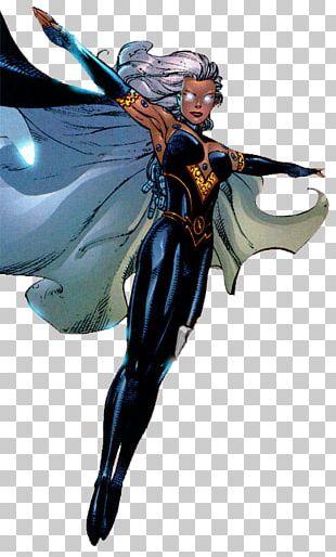 Storm Black Panther Superhero X-Men Marvel Comics PNG
